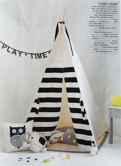 Love the tipi!