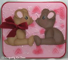 Paper Punch Addiction: Bear Love Candy Tin