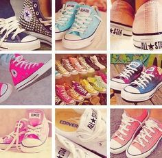 colorful converse can you see the galaxy ones?!! I NEED them
