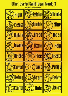 Other useful Gallifreyan words 3 by PurpleAmharicCoffee.deviantart.com on @deviantART