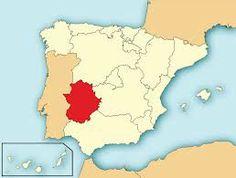 Ubicacion de Extremadura