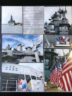 Hawaii - Pearl Harbour  Battleship Missouri