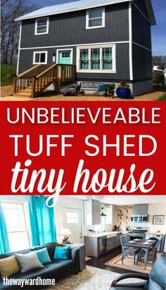 Home Depot Tiny House, Home Depot Shed, Tiny House Kits, Shed To Tiny House, Tiny House Cabin, Tiny House Living, Tiny House Design, Small House Plans, Tiny Houses