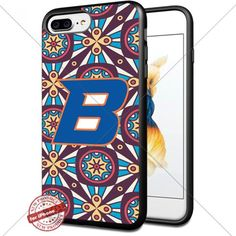 Retro,NCAA,Boise State Broncos, Cool iPhone 7 Plus Smartphone Case Cover Collector iphone TPU Rubber Case Black [By Shumma] -- Awesome products selected by Anna Churchill