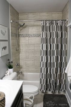 Small Bathrooms With Shower Curtains - There are many ways to present your bathroom to the world and your loved ones. You've