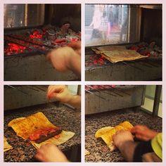 IstanbulEatsTour: Beyoglu: Dürùumzade= the BEST köefte of grild chpd lamb on flatbrd w sumac/chile/oreg