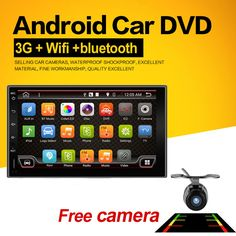 """2 Din Android 4.4 Quad Full-Touch Car PC Tablet double 2din Audio 7""""GPS Navi Car Stereo Radio without DVD mp3 Player Bluetooth"""