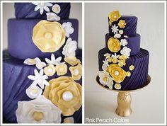 Beautiful purple cake, i would wear a dress like this