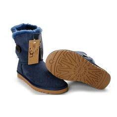 Ugg Femme Soldes Bailey Button Lapis