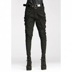 Solid Color Fashionable Style Cotton Blend Women's Pants. Damn! These pants are sooo coooool!!!