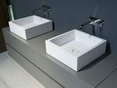 wash basin BLOKKO Lavatório de apoio de mármore de Carrara - Antonio Lupi Design®