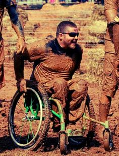"""A Paraplegic Spartan Racer """"All I wanna do is change how the world views disabled athletes."""" -Michael Mills.  >>> See it. Believe it. Do it. Watch thousands of spinal cord injury videos at SPINALpedia.com"""
