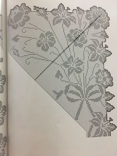 Crochet Tablecloth Pattern, Holiday Crochet Patterns, Patterns In Nature, Filet Crochet, Crochet Designs, Holidays And Events, Doilies, Cross Stitch Embroidery, Projects To Try