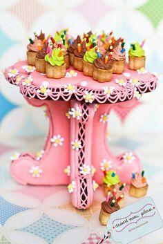 cookie display by Dessert Menu, Please, via Flickr