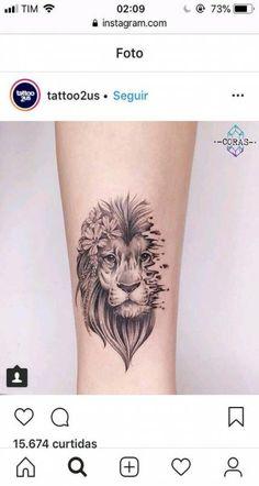 Super Tattoo Lion Minimalist Ideas - My list of best tattoo models Mini Tattoos, Leo Tattoos, Trendy Tattoos, Animal Tattoos, Cute Tattoos, Beautiful Tattoos, Body Art Tattoos, Small Tattoos, Sleeve Tattoos