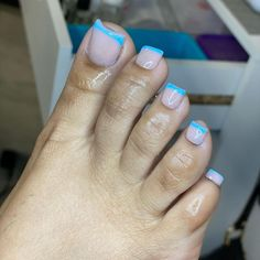 Gel Toe Nails, Acrylic Toe Nails, Short Square Acrylic Nails, Claw Nails, Feet Nails, Pedicure Nails, Pedicures, Pretty Toe Nails, Cute Toe Nails
