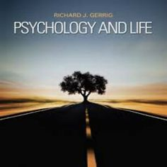 Test Bank for Psychology and Life Edition Richard J. Gerrig - Solutions Manual and Test Bank for textbooks Foreign Service Officer, Human Personality, Psychology Courses, Reading Psychology, Critical Thinking Skills, Research Methods, Writing Styles, Reading Lists, Ebook Pdf