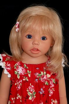 Paula collector vinyl doll 29 inch