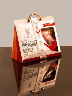Student Spotlight: Barton & Childers Organic Game Meats - The Dieline - Food Box Packaging, Organic Packaging, Food Packaging Design, Luxury Packaging, Packaging Design Inspiration, Food Branding, Identity Branding, Product Packaging, Visual Identity