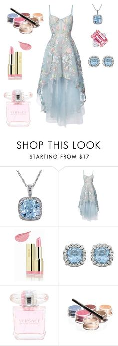 """Untitled #758"" by izzystarsparkle ❤ liked on Polyvore featuring Miadora, Notte by Marchesa, Milani and Bellápierre Cosmetics"