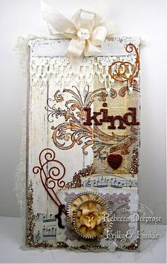 Shabby chic: collage