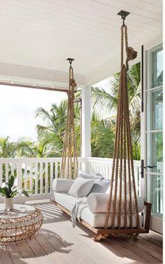 Dream Home Design, House Design, Backyard Patio Designs, Backyard House, Outdoor Living, Outdoor Decor, Outdoor Ideas, Outdoor Rugs, Bedroom Decor