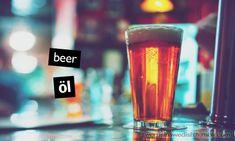 Food & Drink: öl - beer