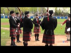 The Shuswap Pipes and Drums at the Grand Forks Spring Fling 2012