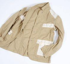 Engineered Garments  エンジニアドガーメンツ  Model  Bedford Jacket - Cotton Pique  ベッドフォードジャケット - コットンピケ  Price  38,850 YEN