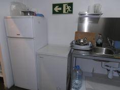 congelador y nevera cocina