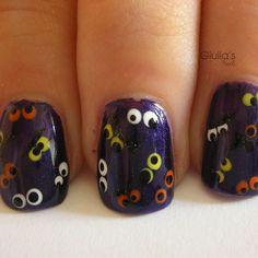 halloween nail art | 2013 Halloween Nail Art - Nail Polish Ideas 2