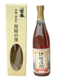 向井酒造 伊根満開、京都 Sake from red rice, sweet and gentle taste!