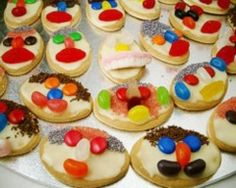 Funny face biscuits - get your kids involved in the kitchen.