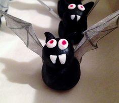 Vampire Bat Cupcakes | Sam Loves Cake