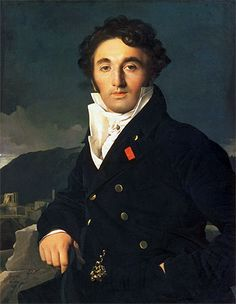Portrait of Charles Cordier - Jean Auguste Dominique Ingres