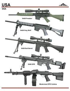 DSA SA58 Series