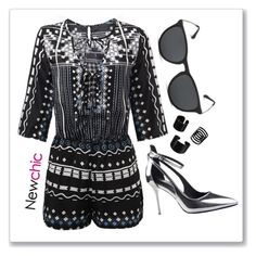 """""""NewChic 26"""" by abecic ❤ liked on Polyvore featuring newchic"""
