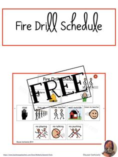 Make sure your AAC users know what to do in a fire drill - or in case of a real fire. Practice following the safety procedures with visual cues to increase comprehension in your elementary or older students. Speech Language Therapy, Speech Therapy Activities, Language Activities, Speech And Language, Communication Development, Language Development, Fire Drill, Visual Cue, Real Fire