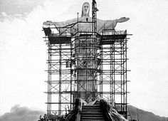 CONSTRUCTION OF CHRIST THE REDEEMER, RIO, 1926-1931