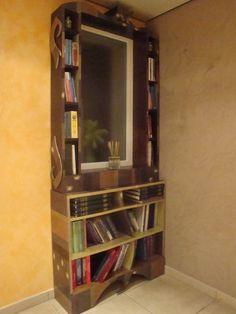 bibliotheque miroir