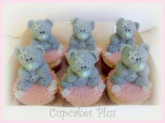 by Cupcakes Plus - love the texture on the bears