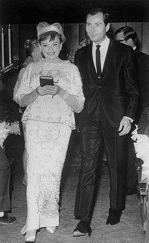 Wedding of Judy Garland & Mark Herron, November 30,1965 (her 4th marriage)