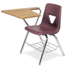 Chair/desk from a college classroom
