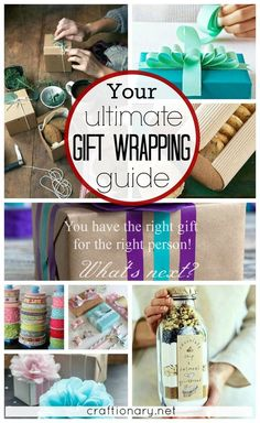 Your ultimate gift wrapping guide at craftionary.net