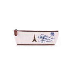 มาใหม่ล่าสุด ราคาไม่แพง HomeGarden Canvas Stationery Storage Pen Case White (Intl) ราคาถูก คุณภาพดี คุ้มราคา