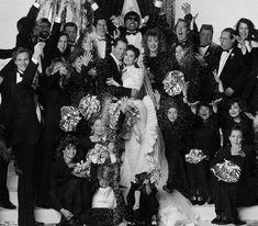 Bruce & Demi's wedding Janet Jones, Bryan Brown, Robin Givens, Dorothy Hamill, Rachel Ward, Faye Dunaway, Aubrey Plaza, Olivia Newton John, Tommy Lee