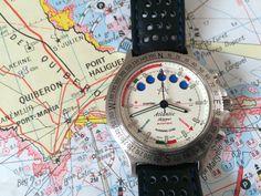 Atlantic Skipper Yachting Chronograph - Movement Valjoux 7757 - Circa 1980