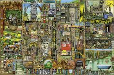 Buy Ravensburger - Colin Thompson Bizzare Buildings Puzzle 5000pc