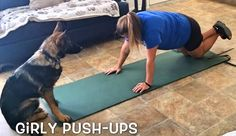 They say working out at home while having a dog around is really hard. They would try to lick your face while you're on the floor, and do all sorts of things that would distract you from your workout. But …