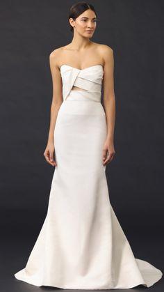 Vestido de novia J. Mendel modelo Adelaide disponible en la tienda de novias De Novia a Novia. San Jose, Costa Rica.